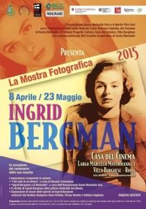 Locandina Mostra Ingrid Bergman