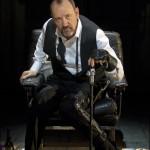 Kevin Spacey nel ruolo di Riccardo III