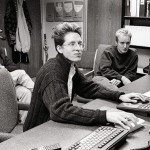 Luke Wilson, Wes Anderson e Owen Wilson durante la produzione del film
