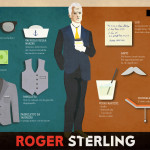 5. Roger Sterling - STYLIGHT