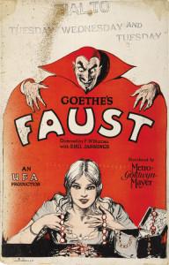 Faust locandina
