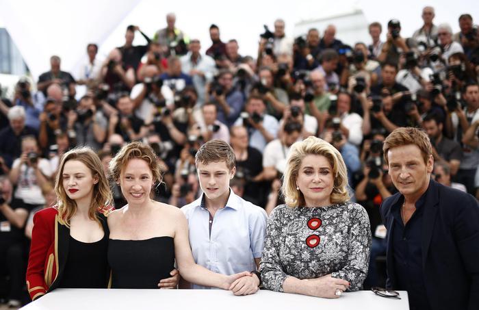 La Tete Haute Photocall – 68th Cannes Film Festival
