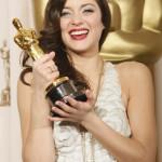 """Winner for Best Actress (""""La Vie En Rose"""