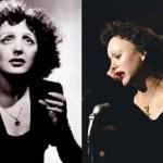 Le due Édith Piaf a confronto.