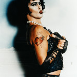 Un'immagine del Dr Frank-N-Furter interpretato da Tim curry