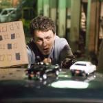 Michel Gondry sul set del film
