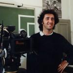 Paolo Sorrentino sul set del film