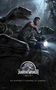 Locandina Jurassic World