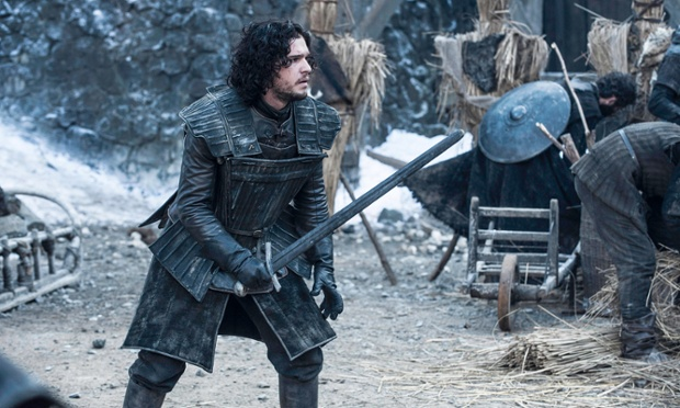 "Game of Thrones Season 4. Sky Atlantic HD..Episode 4 ""Oathkeeper""..Jon Snow..Dany balances justice and mercy. Jaime tasks Brienne with his honor. Jon secures volunteers while Bran, Jojen, Meera and Hodor stumble on shelter."