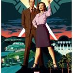 Poster per la seconda stagione di Agent Carter realizzato per il Comic Con.