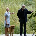 Michael Haneke sul set