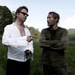 Nicolas Winding Refn sul set con Mads Mikkelsen