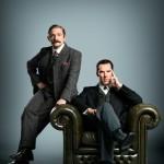 Immagine promozionale dello special natalizio di Sherlock, BBC.