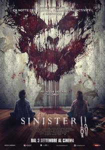 sinister 2 poster ita