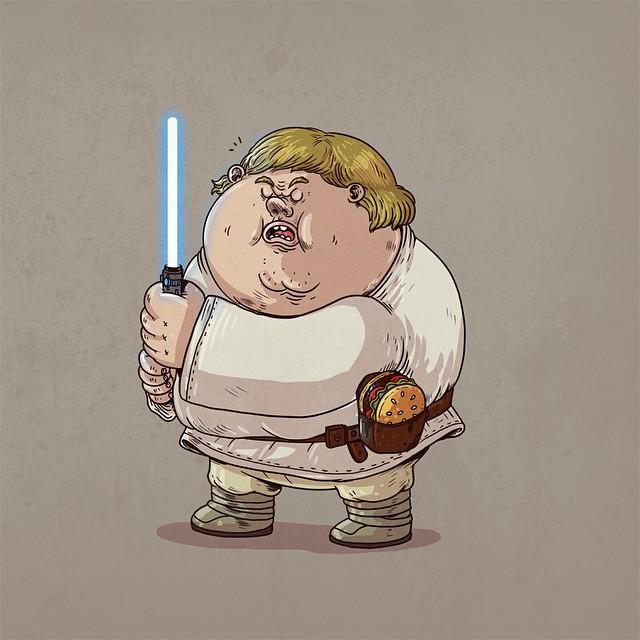 Alex Solis Luke Skywalker