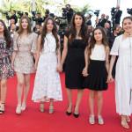 L'intero cast durante la sua presentazione alla Quinzaine des Réalisateurs nella selezione parallela del Festival di Cannes