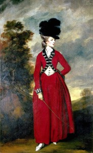 Lady Worsley ritratto