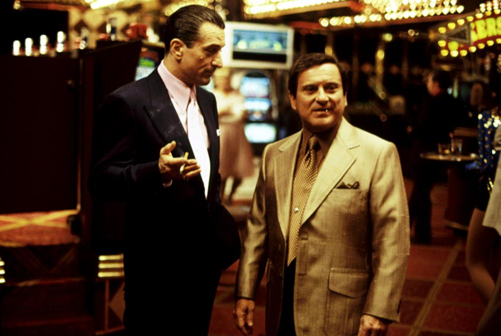 CASINO, Robert De Niro, Joe Pesci, 1995, in the casino