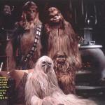La famiglia di Chewbacca al gran completo
