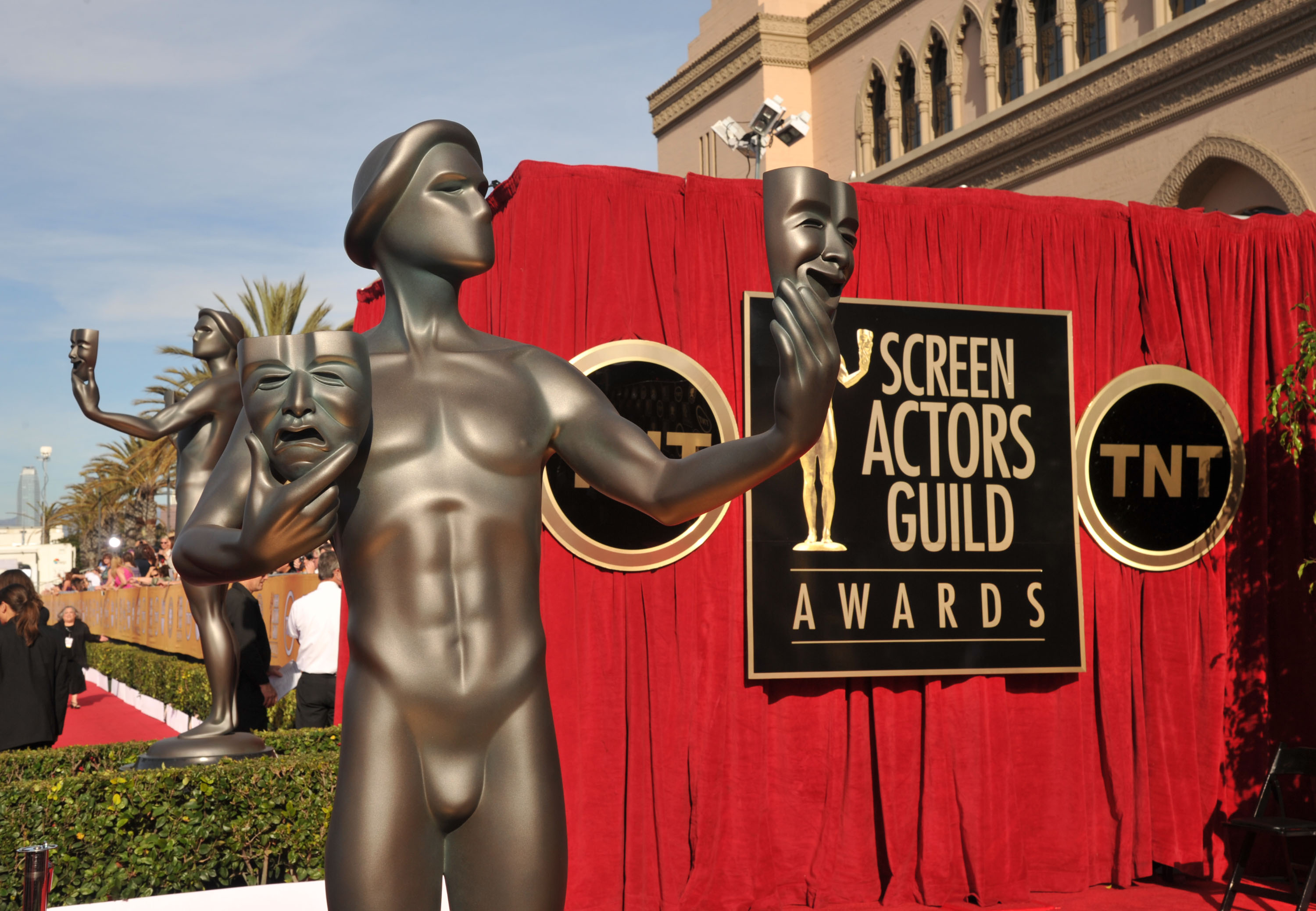 LOS ANGELES, CA - JANUARY 29:  The Actor statue displayed at The 18th Annual Screen Actors Guild Awards broadcasted on TNT/TBS at The Shrine Auditorium on January 29, 2012 in Los Angeles, California. (Photo by Lester Cohen/WireImage) 22005_007_LC_0002.JPG
