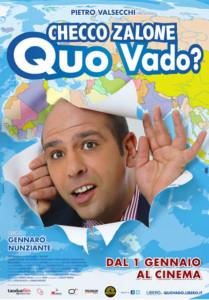 Locandina Quo Vado Zalone