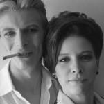 David Bowie e Candy Clark