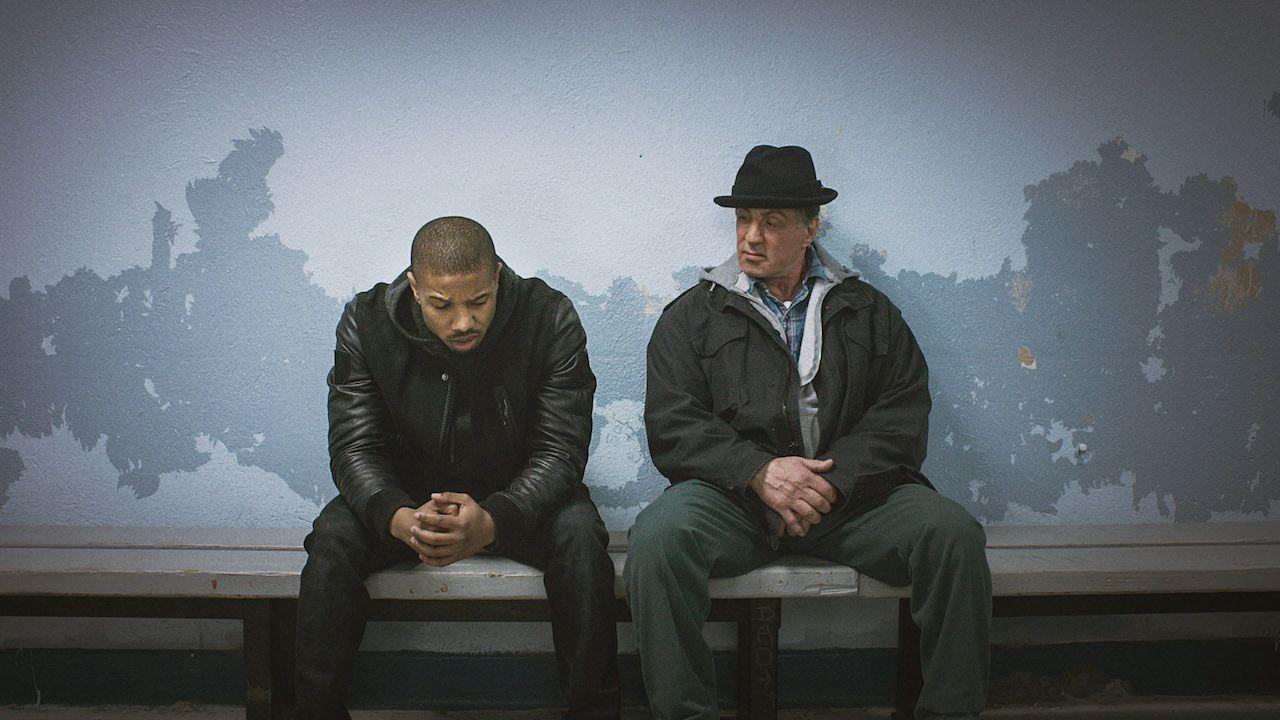 Stallone e Jordan in una scena