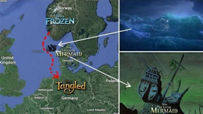 Frozen, La Sirenetta, Rapunzel
