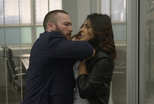 "QUANTICO - ""Drive"" - With only a few weeks until graduation, the NATS are dispatched to various field offices where Alex and Ryan find themselves working a case together. Meanwhile, in the future, Shelby and Caleb's relationship takes a turn, and Alex doesn't know who to trust when she discovers new information about the man she loves, on ""Quantico,"" SUNDAY, MAY 1 (10:00--11:00 EDT), on the ABC Television Network. (ABC/Phillippe Bosse) JAKE MCLAUGHLIN, PRIYANKA CHOPRA"