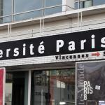 Paris 8, l'università dove Gianlorenzo studia e alla quale ha voluto fare questo omaggio