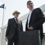 Finch e Reese nel season premiere della quinta stagione.