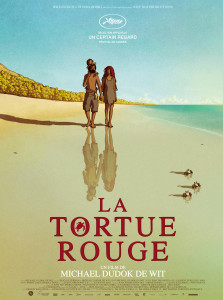 The red turtle poster a Cannes