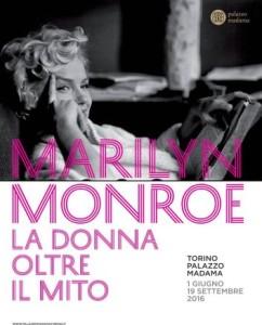 Locandina mostra Marilyn Monroe