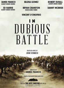 in-dubious-battle poster