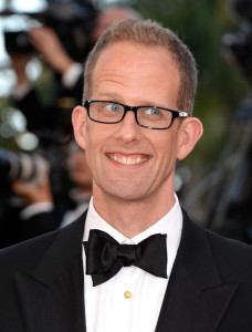 Pete Docter attends the premiere of Inside Out during the 68th annual Cannes Film Festival in May 2015