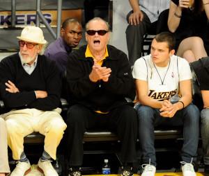 Jack+Nicholson+Lou+Adler+Celebrities+Lakers+whHtzBiIqRbl