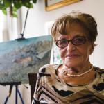 Orsolina: pittrice dilettante, sogna di esporre al Louvre per un giorno.
