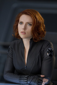 Marvel's movie The Avengers..Natasha Romanoff/Black Widow (Scarlett Johansson)..Ph: Zade Rosenthal ..© 2011 MVLFFLLC. TM & © 2011 Marvel. All Rights Reserved.