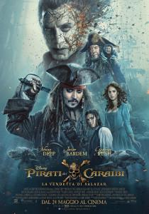 Pirati dei caraibi 5 - locandina salazar