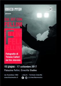 Locandina_ Sul set con Fellini