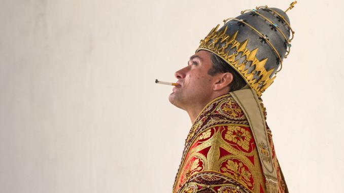 scatti di cinema the young pope
