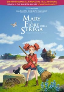 poster mary e il fiore della strega