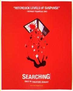 searching locandina