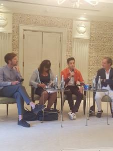 conferenza stampa rami malek roma