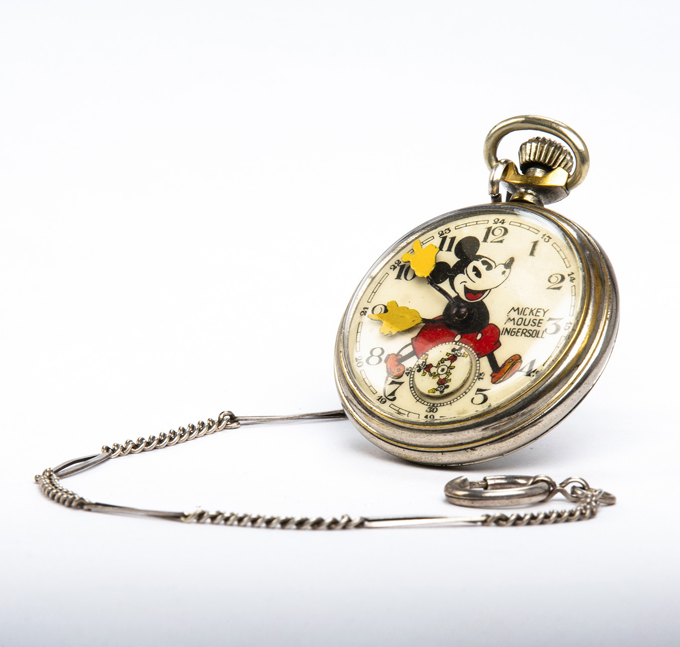 6_Rarissimo orologio da tasca del 1933 esposto in mostra