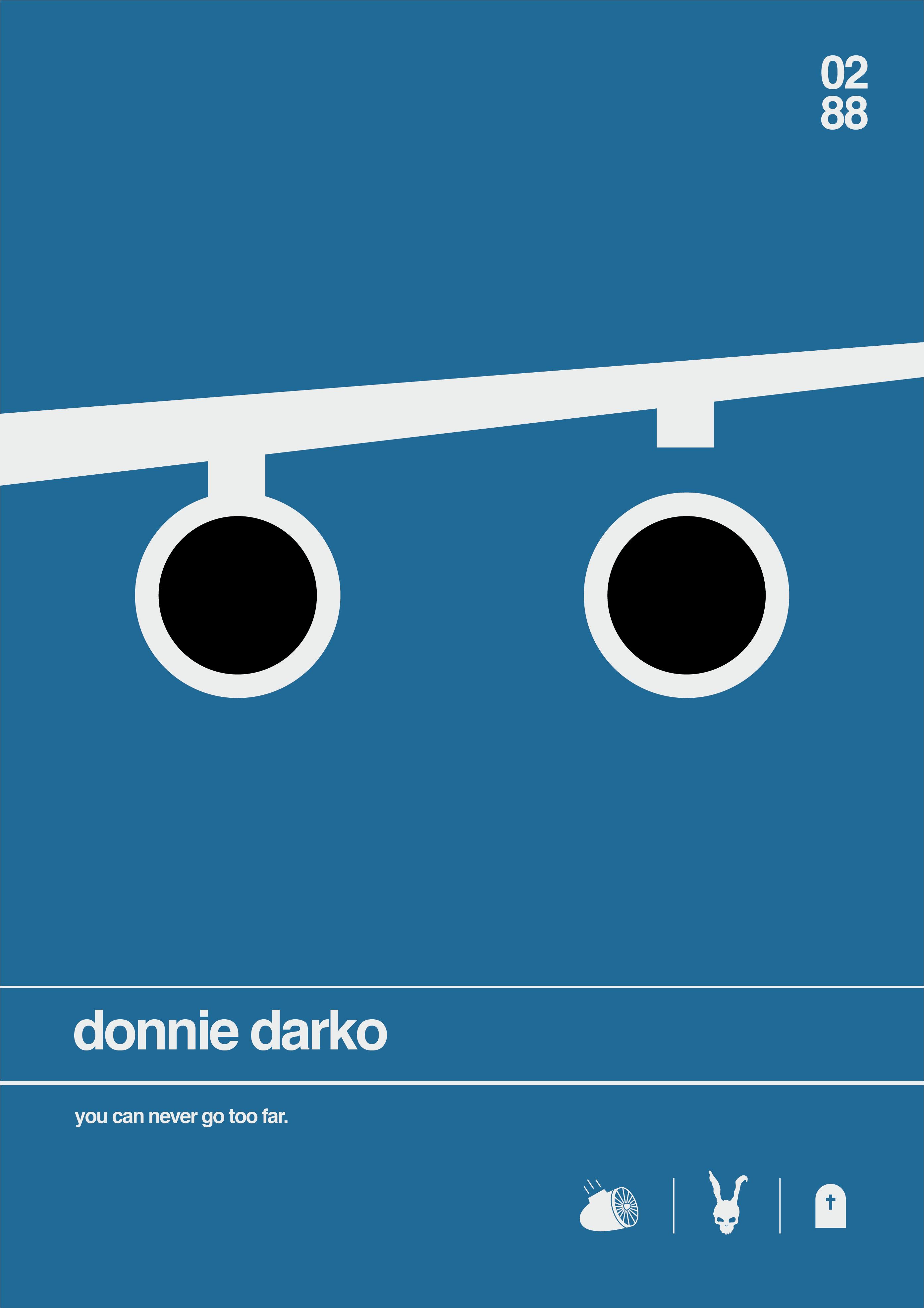 8. Shortology minimal project Donnie Darko 228×326
