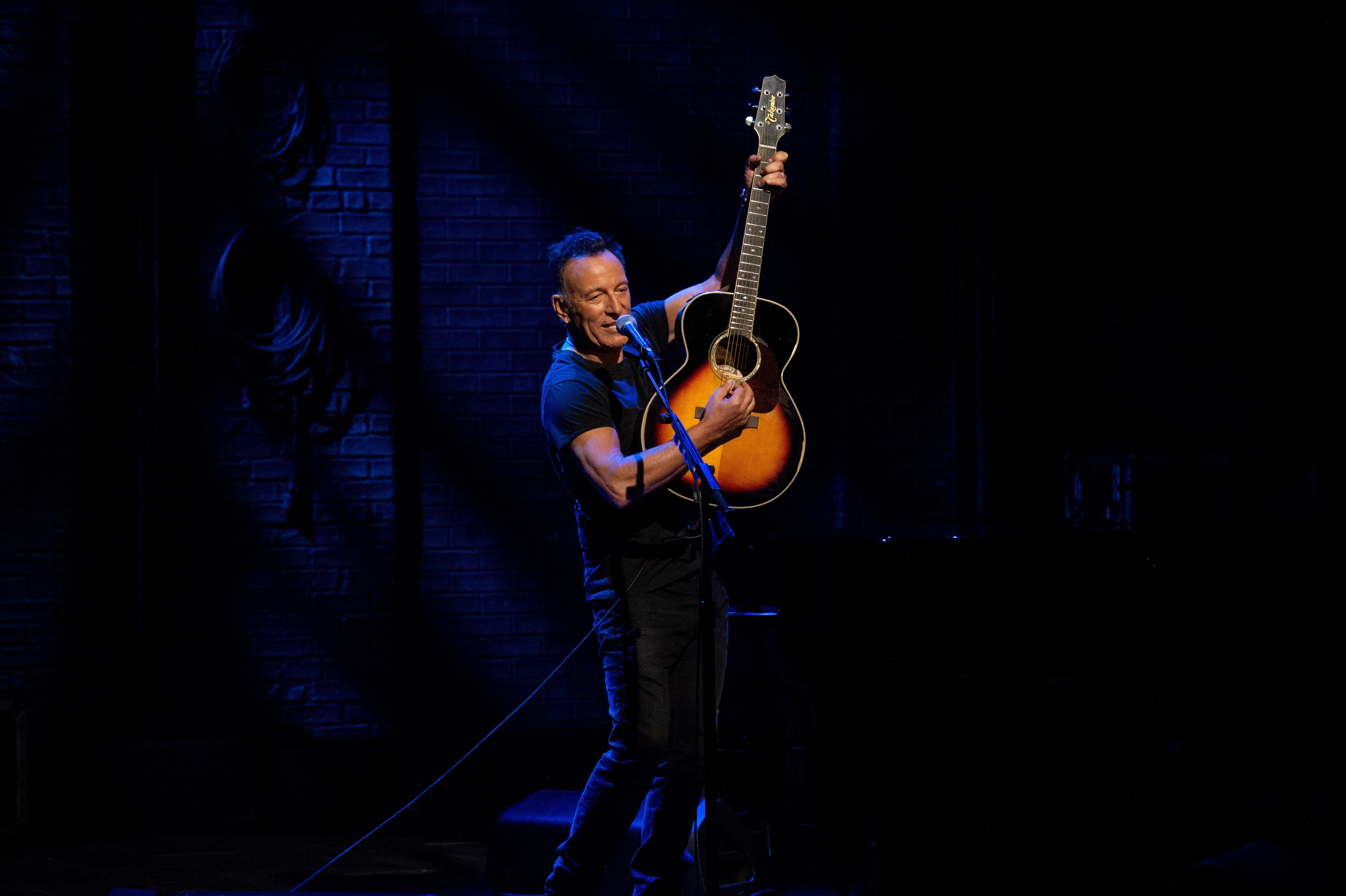"Bruce Springsteen ""live"" su Netflix"