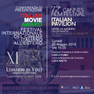 Conferenza Cannes ITA 2019