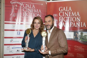 Claudia Gerini, Massimiliano Gallo_evento di presentazione 3 ottobre_Roma