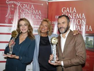 Claudia Gerini,Valeria Della Rocca,Massimiliano Gallo_evento di presentazione 3 ottobre_Roma